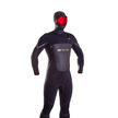Hooded Kona 6mm Wetsuit Black