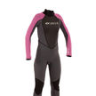 Ladies Storm 3mm Full Suit Black/Graphite/Pink