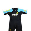 Swarm Infant Shorty Blue & Yellow