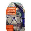 Adult Silicone Snorkel Set