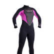 Ladies storm 3mm Full Suit Iris/Black