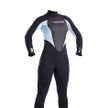 Ladies storm 3mm Full Suit Glacier Blue/Black
